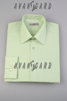 Pánská košile klasik dl.r.-sv.zelená