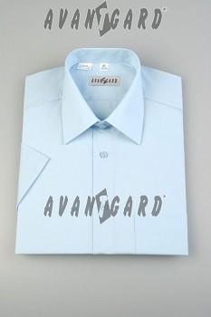 Pánská košile klasik dl.r. světle modrá