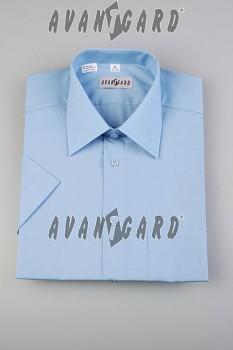 Pánská košile klasik dl.r.-středně modrá