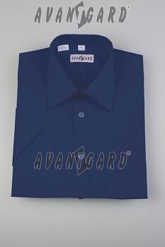 Pánská košile klasik dl.r.-tmavě modrá