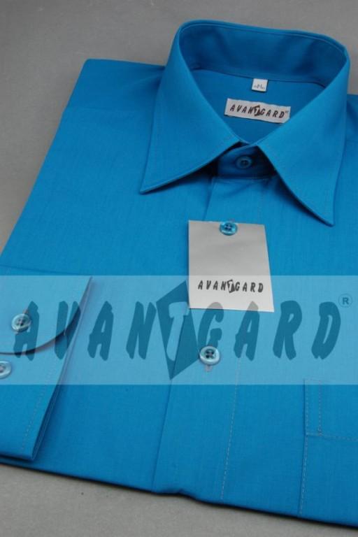Pánská košile klasik dl.r.-tyrkysová tm. - Svatební doplňky a ... 9d5afcf97e