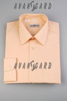 Pánská košile klasik dl.r.- lososová