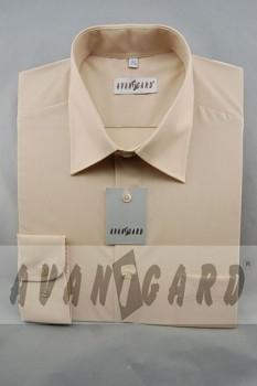 Pánská košile klasik dl.r.-béžová