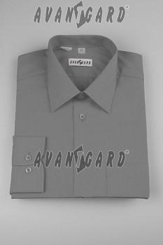 Pánská košile klasik dl.r.- grafitová