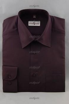 Pánská košile klasik dl.r.- černá