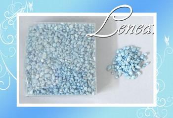 Dekorační kamínky- drť modrá