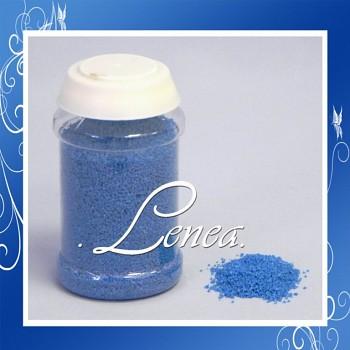 Dekorační písek-modrý