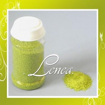 Dekorační písek-zelený světlý