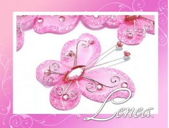 Motýlek-růžový (ST)