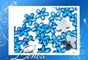 Kytičky malé-modré tmavé