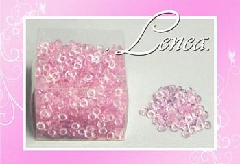 Dekorační kapky rosy-růžové