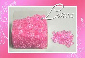 Dekorační kapky rosy-tmavě růžové(fuchsie)
