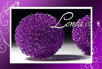 Aranžovací koule-fialová