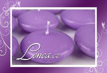 Plovoucí svíčka- fialková