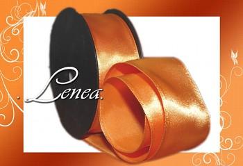 Saténová stuha š.4cm-oranžová
