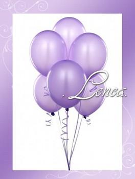 Balónek nafukovací-Lila perleťový