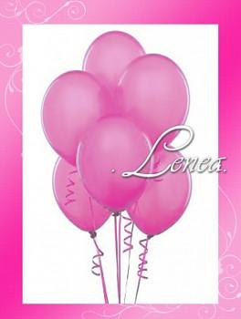 Balónek nafukovací-růžový tmavý