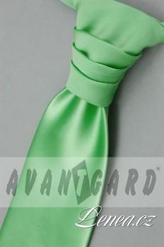 Regata Premium s kapesníčkem-zelená 95450