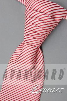 Regata Premium s kapesníčkem-červená 907040