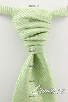 Regata Premium s kapesníčkem-zelená 666040