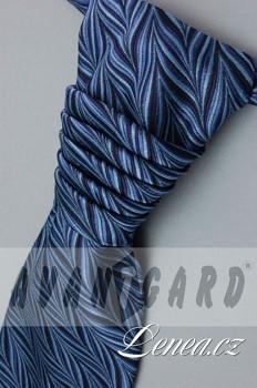 Regata Premium s kapesníčkem-modrá 95360