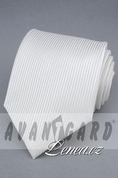 Kravata klasik-bílá 4420
