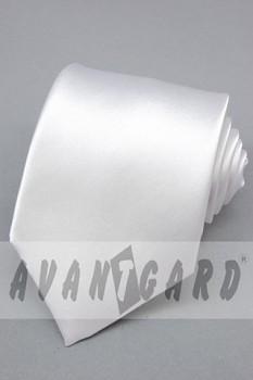 Kravata klasik-bílá 7210