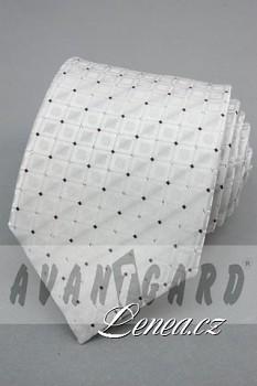 Kravata klasik-bílá 11330