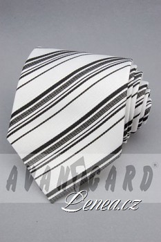 Kravata klasik-bílá 1220