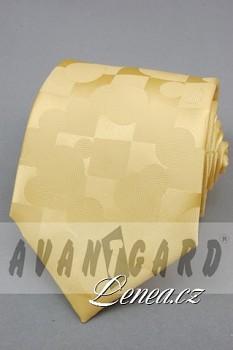 Kravata klasik-žlutá 808010