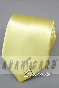 Kravata klasik-žlutá 7700
