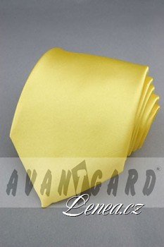Kravata klasik-žlutá 7710