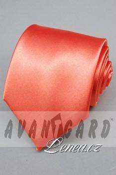 Kravata klasik-oranž. 7770