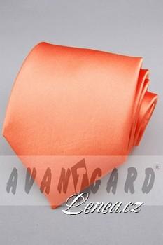 Kravata klasik-oranž. 7730
