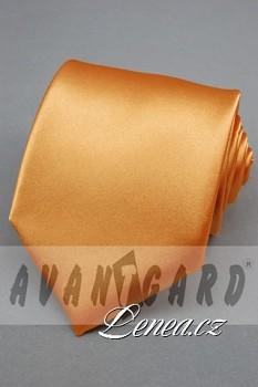 Kravata klasik-oranž. 7830