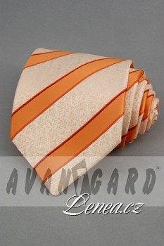 Kravata klasik-oranž. 102060
