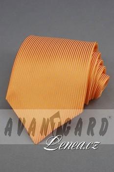 Kravata klasik-oranž. 4390
