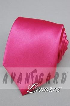 Kravata klasik-růžová 7560