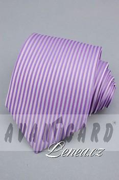 Kravata klasik-fialková 4140