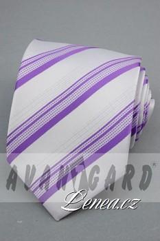 Kravata klasik-fialková 101180