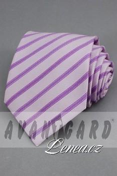 Kravata klasik-fialková 103340