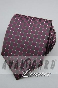 Kravata klasik-fialková 11400