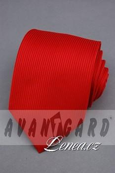 Kravata klasik-červená 4100