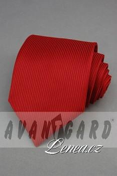Kravata klasik-červená 4240