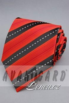 Kravata klasik-červená 11250