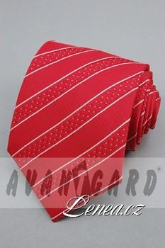 Kravata klasik-červená 11320
