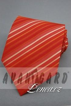 Kravata klasik-červená 901150