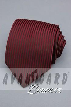 Kravata klasik-bordó 4170