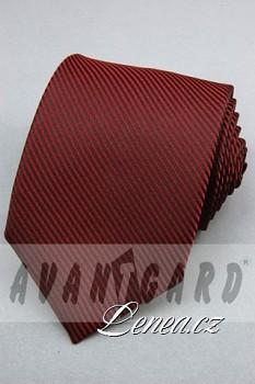 Kravata klasik-bordó 4440