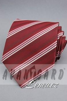 Kravata klasik-bordó 11110